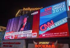 Election night in Las Vegas Stock Photos