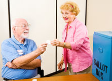 Election - Polling Place Stock Photos