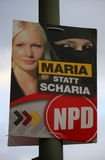 Election poster Stock Images
