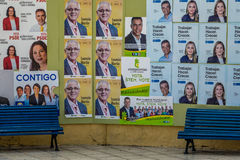 Election posters Royalty Free Stock Photo