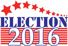 Election 2016 Royalty Free Stock Images