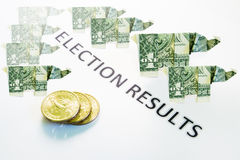 Election Results Royalty Free Stock Image