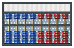 Election Results Abacus Royalty Free Stock Photography
