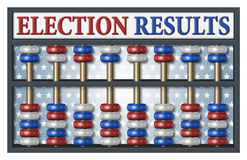 Election Results Abacus Royalty Free Stock Photo