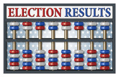 Election Results Abacus Stock Photography