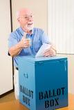 Election - Senior Thumbsup Stock Photography