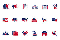 Election topic icon Royalty Free Stock Photos