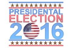 Election 2016 USA concept Stock Image