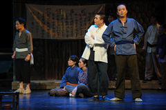 In the election of village cadres- Jiangxi opera a steelyard Royalty Free Stock Image