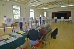 Election volunteers Royalty Free Stock Photo