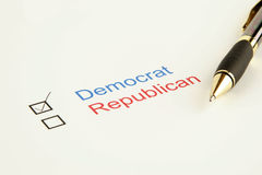 Election Vote Royalty Free Stock Photo