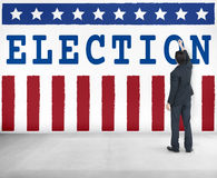Election Vote Democracy Referendum Graphics Concept royalty free stock image