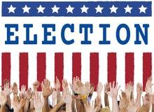 Election Vote Democracy Referendum Graphics Concept. Election Vote Democracy Referendum Graphics stock image