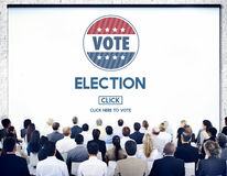 Election Vote Government Choice Voting Concept Stock Photography