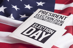 Election 2016. Voter Registration Application for presidential election 2016 stock photography