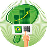 Elections in Brazil Stock Photo