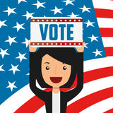elections day design vector illustration
