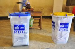 Elections in DR Congo 2011 Stock Photo