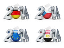 Elections in Germany, Czech Republic, European Royalty Free Stock Photo