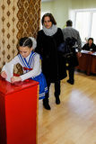 The elections in Gomel region of the Republic of Belarus. Stock Image