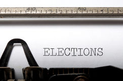 Elections Royalty Free Stock Photos