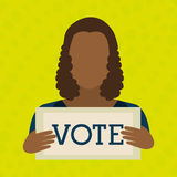 Elections icon design. Illustration eps10 graphic stock illustration