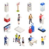 Elections Icons Set royalty free illustration