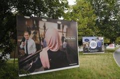 Elections_make Берлин немца местное более сильный Стоковая Фотография RF