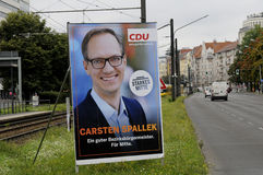 Elections_make Берлин немца местное более сильный Стоковое Изображение