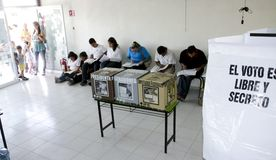 Elections in Mexico Royalty Free Stock Photo