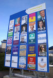 Elections in the Netherlands billboard Stock Photography