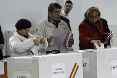 Elections Romania Royalty Free Stock Image