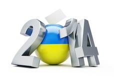 Elections in Ukraine Stock Image
