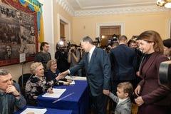 Elections in Ukraine royalty free stock photo