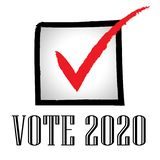 2020 Elections Usa Presidential Vote For Candidates - 2d Illustration. 2020 Elections Usa Presidential Vote For Candidates. United States Political Referendum stock illustration