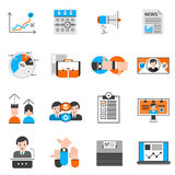 Elections And Voting Icons Set Stock Photo