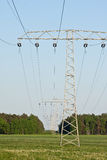 Electircal powerlines Royalty Free Stock Images