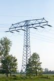 Electircal powerlines Stock Images
