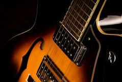 electiric κιθάρα Στοκ φωτογραφία με δικαίωμα ελεύθερης χρήσης