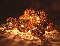 Electiric bożonarodzeniowe światła Fotografia Royalty Free