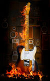 Electiric guitar Royalty Free Stock Photography
