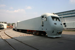 Electonic loco shell Royalty Free Stock Photo