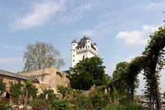 Electoral castle in Eltville, Germany Stock Image