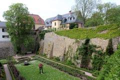 Electoral castle in Eltville am Rhein Stock Photos
