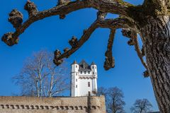 Electoral Castle of Eltville. Rheingau, Hesse, Germany Stock Photography