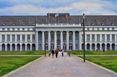Electoral Palace in Koblenz. Koblenz, Germany-April 5th 2014-The Electoral Place in Koblenz is part of the World Heritage Upper Middle Rhine Valley and is the Royalty Free Stock Photo