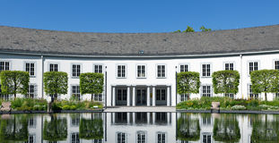 Electoral Palace Reflections Royalty Free Stock Image