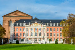 Electoral Palace in Trier in autumn, Germany Stock Photo