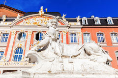 Electoral palace in Trier, Germany Stock Images