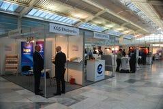 Electrónica de aviación Europa 2017 Imagen de archivo libre de regalías